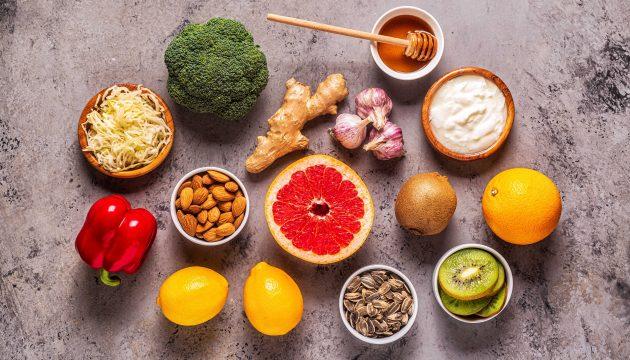 Food to build immunity